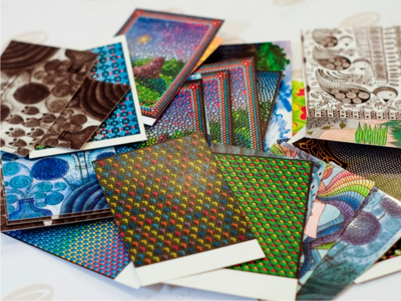 Фирмы, печать открыток со своим изображением от 1 штуки москва